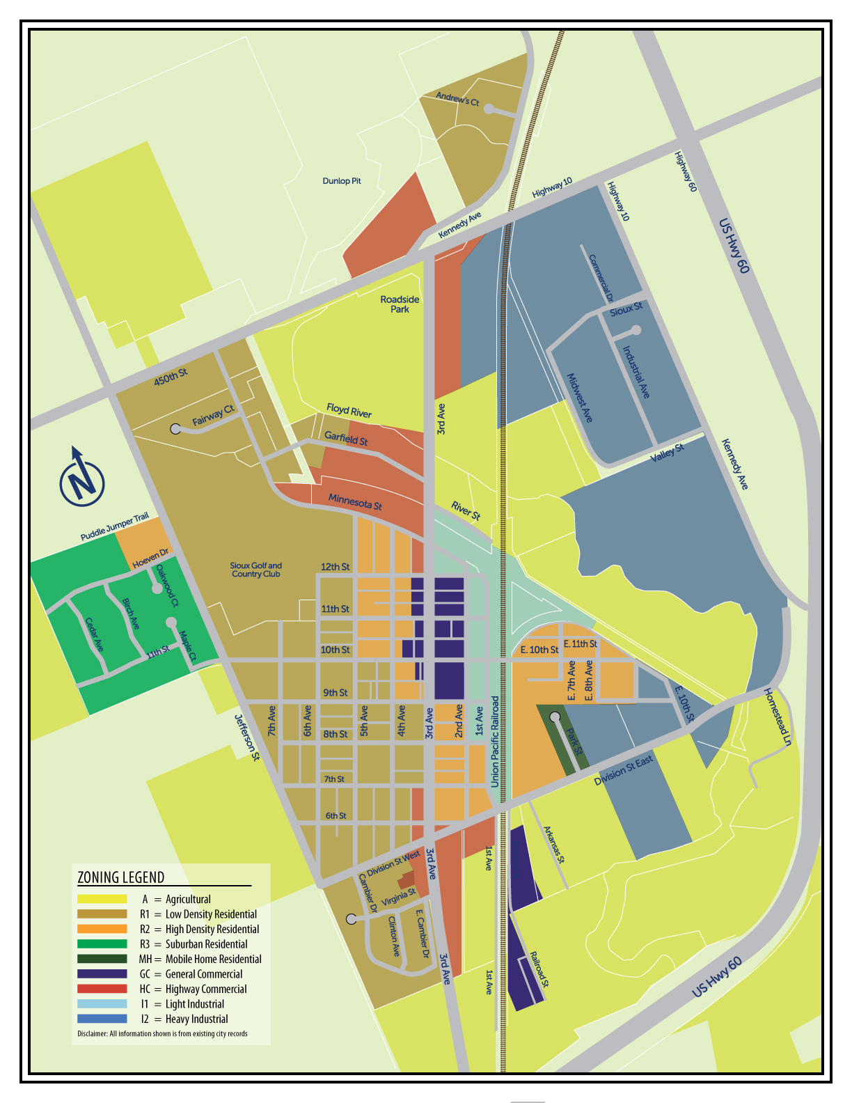 Planning and Zoning Maps – Alton, Iowa